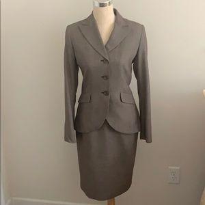 EUC Calvin Klein 2pc Skirt Suit